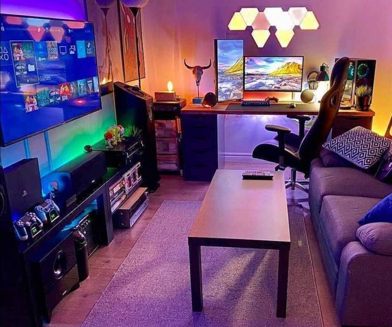 30 Small Gaming Room Ideas And Setups Peaceful Hacks