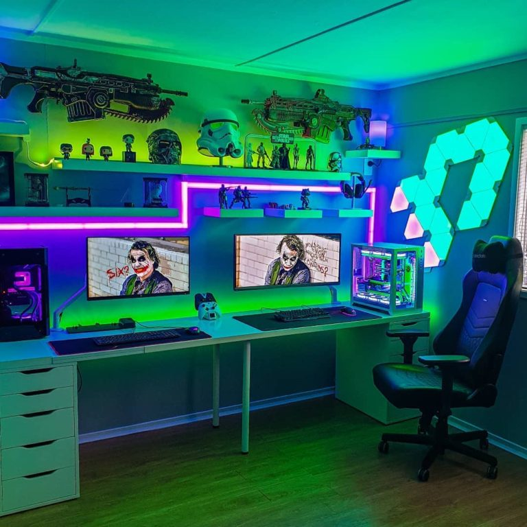 30 Small Gaming Room Ideas And Setups Peaceful Hacks